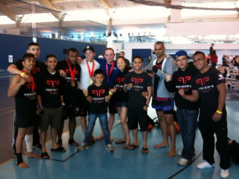 Muay Thai Kickboxing and Submission Wrestling Vancouver