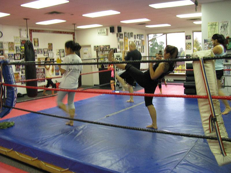 Cardio Muay Thai Kickboxing Vancouver 9