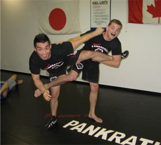 Posener's MMA Vancouver George Kassimatis and Costa Rojas