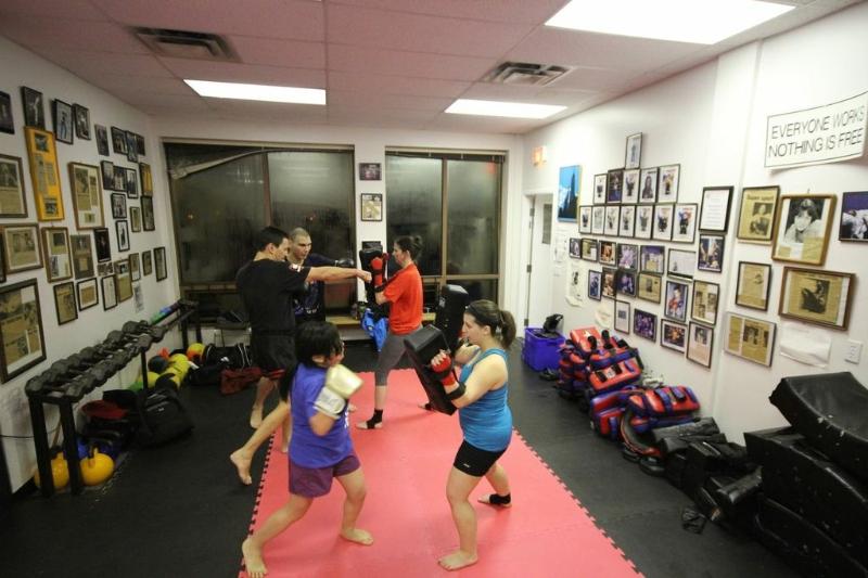 Cardio Muay Thai Kickboxing Vancouver 1