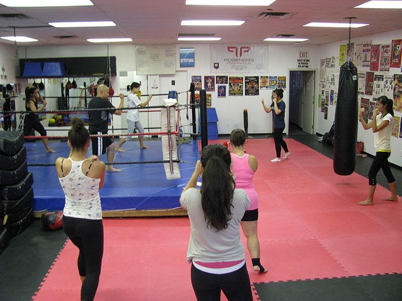 Cardio Muay Thai Kickboxing Vancouver 8