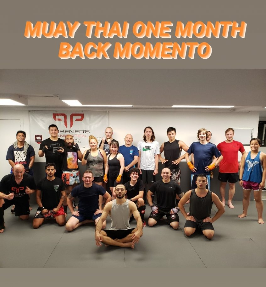 One month Back MMA Vancouver
